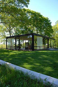 Philip Johnson's Glass House | Glass House | anne dunne | Flickr