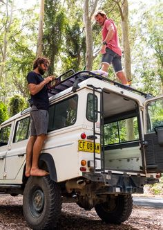 Brett Burcher and Youri Zoon gearing up for a little roadtrip Down Under
