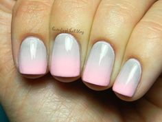 DIY Pastel Ombre Nails. #nailart