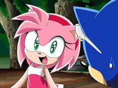 Sonic And Amy, Sonic And Shadow, Amy Rose, Disney Infinity Characters, Sonic The Hedgehog, Sonamy Comic, Sonic Heroes, Creeper Minecraft, Rose Pictures