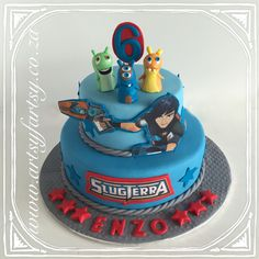 Slugterra Cake #slugterracake