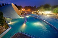 Best Baths in Hungary - Barlang Baths and Cave Swimming, Miskolc Big Pools, Hungary Travel, Heart Of Europe, Best Bath, Pompeii, Budapest, Countryside, Places To Visit, Spa