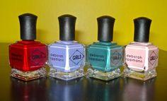 Keep Your Nail Game Fresh: Deborah Lippmann - HBO Girls Collection #nails #nailpolish #beautyblog