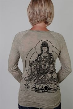 Check out a new line we're carrying...Quan Yin Goddess Tee by Third Eye Threads