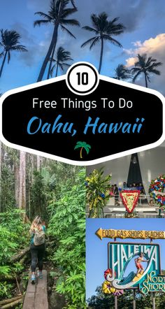 10 FREE THINGS TO DO ON OAHU HAWAII Visiting Hawaii isn't cheap, especially if you've traveled for hours on end. We decided to help the endured traveler with some great things you can visit/do on Oahu that's simply … Oahu Hawaii, Kauai, Visit Hawaii, Hawaii Honeymoon, Hawaii Travel, Honeymoon Ideas, Hawaii Beach, Hawaii 2017, Mexico Travel
