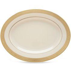 "Westchester™ 13"" Oval Platter by Lenox | House N Hobbies"