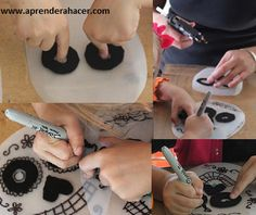 como hacer porta lentes de telas - Google Search Washer Necklace, Craft Ideas, Google, Crafts, Lenses, Fabrics, Manualidades, Handmade Crafts, Craft