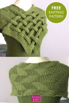 My Braided Celtic Knot Scarf Knitting Pattern is a fun one for experienced beginners. Enjoy easy knit and purl combinations in this interwoven design. Get full written pattern and video tutorial by Studio Knit. Baby Knitting Patterns, Infinity Scarf Knitting Pattern, Knitting Designs, Knitting Ideas, Easy Knitting, Loom Knitting, Knitting Needles, Scarf Knots, Knitting Accessories