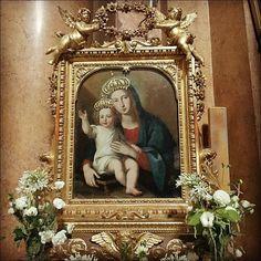 Rome J-7  Pèlerinage #SumPont2015  Vierge à l'Enfant de l'Eglise de la Très-Sainte-Trinité-des-Pèlerins  #Populus #Summorum #Pontificum #SummorumPontificum #pellegrinaggio #Roma #Паломничество в #Рим.