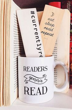 Readers gonna read, fangirls gonna fan! Love these cute mugs to compliment all our favorite fandoms. Find your new reading companion from Redbubble.