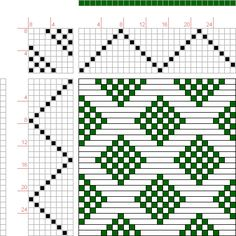 Weaving Draft Page 72, Figure 4, Christian Morath Pattern Book, Germany, 1784-1810, #21929
