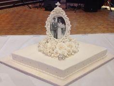 Stairway To Heaven Wedding Cake Upside Down Pastillage Church Stairs Gravity
