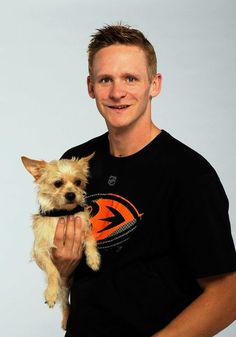 Anaheim Ducks Go To The Dogs On National Dog Day -Corey Perry