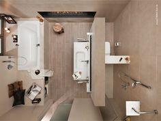 Kleine Bäder gestalten ▷ Tipps & Tricks für\'s kleine Bad | kleine ...