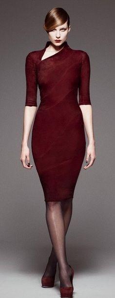 Jitrois. This look is classic/gorgeous/smooth/fierce/sleek/feminine/powerful/commanding