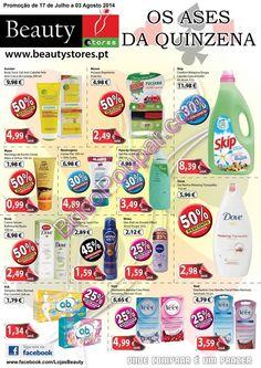 Promoções Beauty Stores - Folheto de 17 de Julho a 03 de Agosto