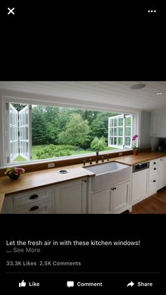 Modern Kitchen Window this looks fantastic but it's a melbourne company. | kitchen