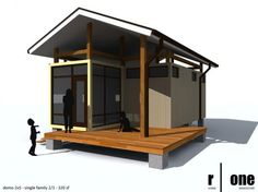 another cool shipping container house... Pool house to entertain by pond or pool