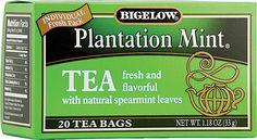 Bigelow Tea Plantation Mint® Tea  My favorite new tea.  Superlove!