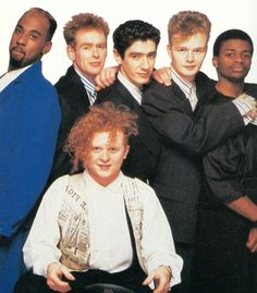 """Simply Red were a British soul-pop band formed in 1984 by singer Mick """"Red"""" Hucknall (born Michael James Hucknall, June 8, 1960, Manchester, England).  The band sold more than 50 million albums over a 25-year career. Their style drew influences from blue-eyed soul, New Romantic, rock, reggae and jazz. Since their early days the main driving force behind the band was singer Mick Hucknall, who by the time the band broke up in 2010 was the only original member left."""