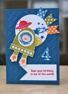 Julie's Japes - An Independent Stampin' Up! Demonstrator in the UK: Blast Off!