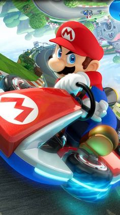 Mario Kart - I think I have played every version of this. Mario Kart 8, Game Mario Bros, Mario Y Luigi, Super Smash Bros 64, Super Mario Bros, Super Mario World, Best Wallpapers Android, Cute Wallpapers, Super Nintendo