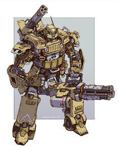 Heavy US Army Mech, Artist unknown