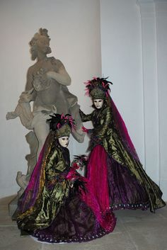 Ulrike Walz - Venezianische Messe Ludwigsburg - own Costume, with my good friend
