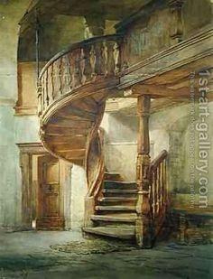 Johann Martin Gensler:Spiral Staircase Limburg an der Lahn