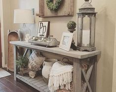 Give your guests the first impression about your home design and decor with entry table. Get inspired by these stunning modern entry table ideas. Design Living Room, My Living Room, Small Living, How To Decorate Living Room, Modern Living, Kitchen Living, Living Room Ideas, Decor Room, Diy Home Decor