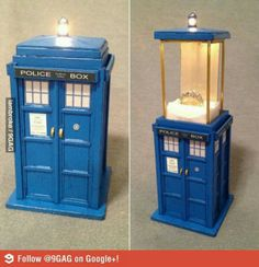Doctor who ring box!  OH MY GOSH I'm such a nerdy whovian.