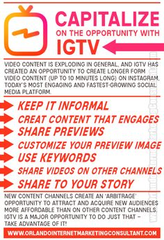 IGTV got off to a very slow start when it first launched, but thanks to recent developments, it's now on fire! Video content is exploding in general, and IGTV h(.