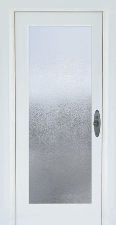 Glacier Decorative Window Film   Embossed Vinyl Glass Covering