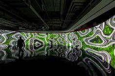 Installazione immersiva.  http://virtualmentis.altervista.org/
