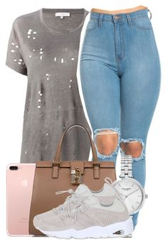 """Sem título #2015"" by isabellacarolina161 ❤ liked on Polyvore featuring IRO, Dolce&Gabbana, Kate Spade and Puma"