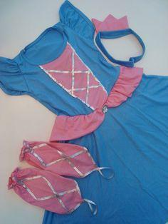Pijama Fantasia Cinderela