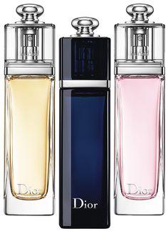 Dior Addict Raikkaat, rohkeat ja sensuellit tuoksut.  EdP 30 ml 76,90 EdT tai Eau Fraice EdT 50 ml 89,-/kpl
