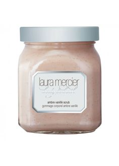 Pin for Later: Your Preholiday Beauty Regime, Sorted Laura Mercier Body Scrub Ambre Vanillè Laura Mercier Body Scrub Ambre Vanillè (£37)
