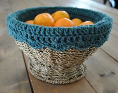 crochet basket liner - Google Search