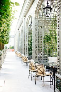 , 4 Tage in Paris , 4 Tage in Paris French Architecture, Sustainable Architecture, Architecture Design, Outdoor Cafe, Outdoor Restaurant, Outdoor Decor, Restaurant Interior Design, Cafe Interior, Landscape Design