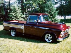 57 Cameo Carrier pickup | Cars & Trucks | Pinterest | Chevy, 1957 ...
