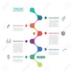 Timeline Diagram Infographics (flat PPT template)   Pinterest ...