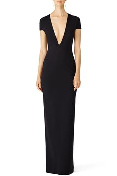 Rent Black Mason Gown by Solace London for $75 only at Rent the Runway.