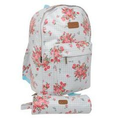 Lee Cooper Backpack and Pencil Case Set Girls Perfect Gift For Her, Gifts For Her, Herschel Heritage Backpack, Backpacks, Floral, Bags, Pencil, Girls, Fashion
