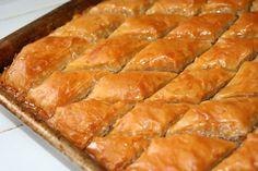 Baklava | www.tryanythingonceculinary.com | Baklava for a holiday family tradition! | #baklava