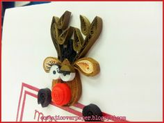 ecstatic over paper: Rudolph, the Cheeky Reindeer
