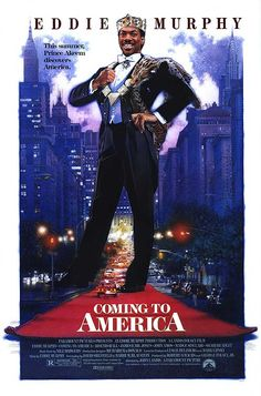"Coming to America (1988) - ""She's Your Queeeeeeen Tooo Beeeee!!!"""