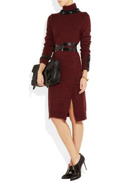 McQ Alexander McQueen | Turtleneck wool sweater dress | NET-A-PORTER.COM