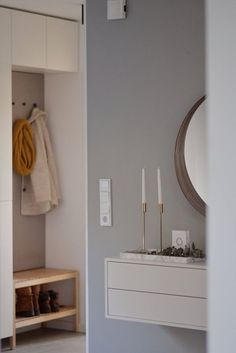 Ikea Hacks, Ikea Hack Kids, Ikea Hallway, Entry Hallway, Hallway Ideas, Entrance Hall, Entryway, Ikea Dekor, Ikea Bathroom