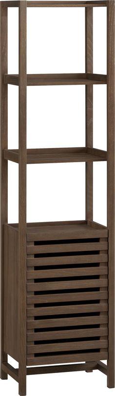 Dammit. I need that for my bathroom! Banya Bath Tower  | Crate and Barrel
